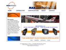 Max Avionics website history