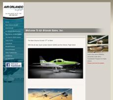 Air Orlando Sales website history