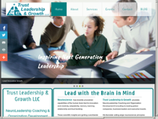 Trust Leadership and Growth website history