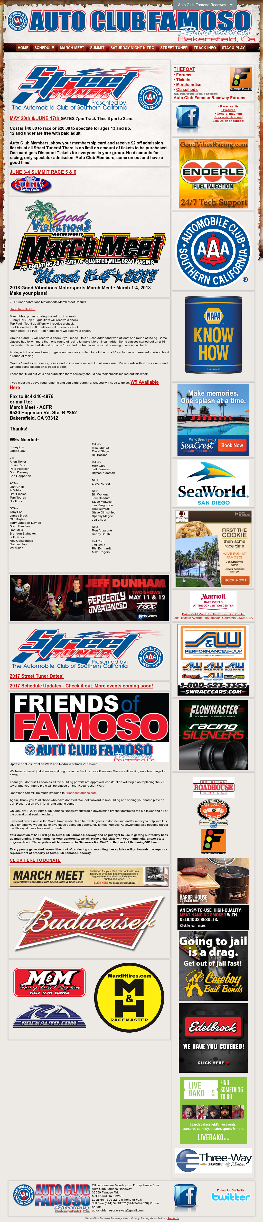 Auto Club Famoso Raceway Competitors, Revenue and Employees