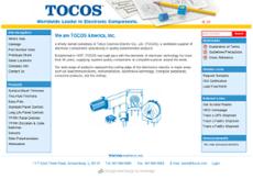 TOCOS website history