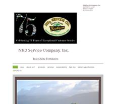 NH3 Service website history