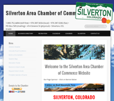 Silverton Area Chamber of Commerce website history