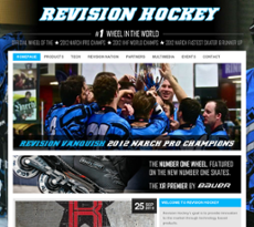 Revision Hockey website history