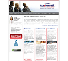 Auto Internet Marketing website history