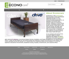 Econocare website history