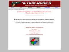 Action Works website history