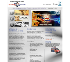 Conditioned Air website history