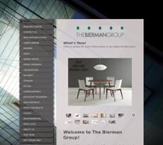 The Bierman Group website history