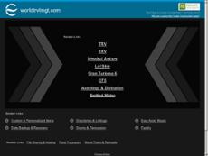 World Travel Management website history
