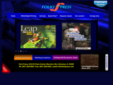 Folio Press website history