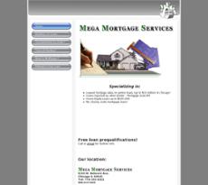 Mega Mortgage website history