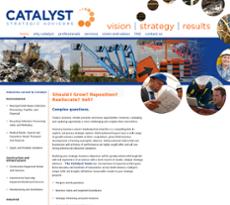 Catalyst Strategic Advisors website history