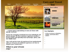 Cars and Travel Too website history