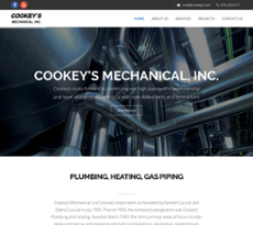 Cookey's Mechanical website history
