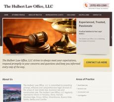 Hulbert Law Office website history