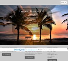 Lionheart Financial website history