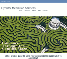 Hy View Mediation Services website history