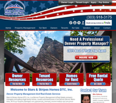 Stars & Stripes Homes DTC website history