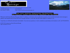 Rocky Mountain Massage website history
