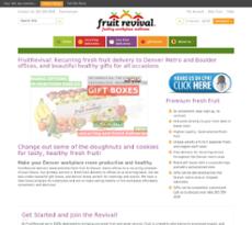 Fruit Revival website history