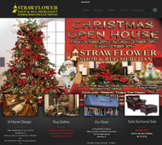 Strawflower Shop website history