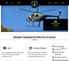 HeliTech website history