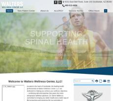 Walters Wellness Center website history