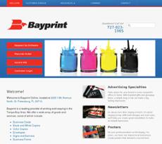 Bayprint website history