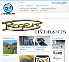 CHS Snowmakers website history