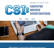 CSI website history