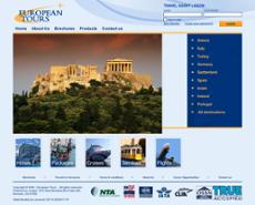 European Tours website history