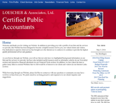 Loescher and Associates website history