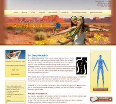 Chiropractor - Coolidge website history