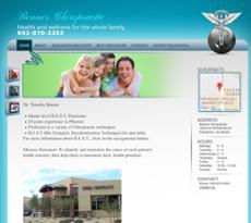 Benner Chiropractic website history