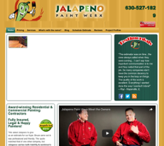 Jalapeno Paint Werx website history