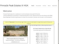 Pinnacle website history