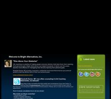 Bright Alternatives website history