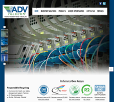 American Disabled Veteran Telecom website history