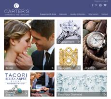 Carter's Diamond Jewelry website history
