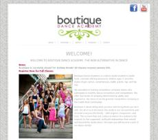 Boutique Dance Academy website history