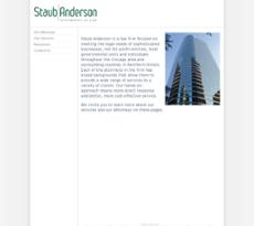Staub Anderson Green website history