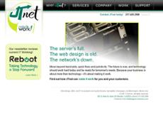 JT Net website history