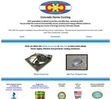 Colorado Home Cooling website history