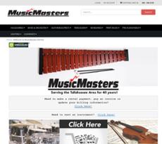 Music Masters website history