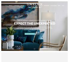 Lovelace Interiors website history