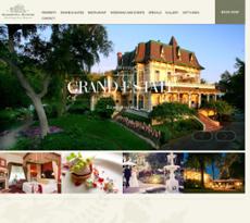 Madrona Manor Wine Country Inn & Restaurant website history