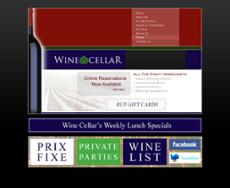 Wine Cellar website history