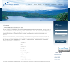 Crown Financial website history