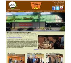 Dow Sherwood Restaurant Management website history